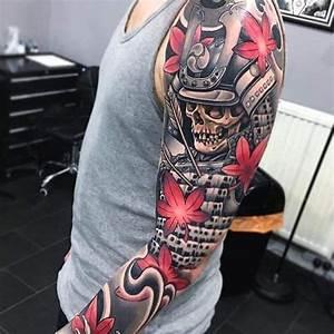 Tatouage Homme Japonais : tatouage homme samourai japonais sur bras tatouage homme tatouage tatouage samourai et ~ Melissatoandfro.com Idées de Décoration