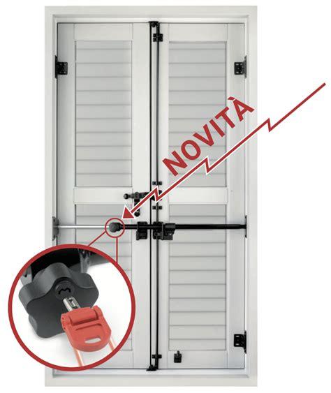 Persiane Antiscasso - blindy key pomolo di sicurezza con chiave antiscasso per