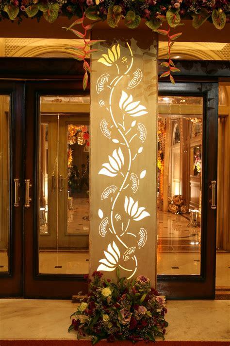 entrance pillar decor pillar design