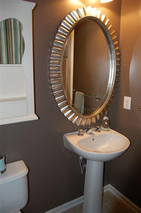 black oval bathroom mirror bathroom bring a touch of calm elegance to your bathroom 17412