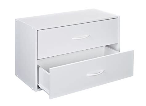 closetmaid drawer organizer closetmaid 1566 stackable 2 drawer horizontal organizer