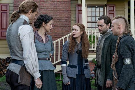 "Caitriona balfe, sam heughan, sophie skelton. 'Outlander' Season 5 Episode 11 Recap: ""Journeycake"""