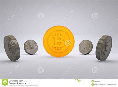 Dollar is the most common and widely accepted currency but gold is also well established in. Bitcoin Vs World Currencies Stock Illustration - Illustration of finance, currency: 38889858