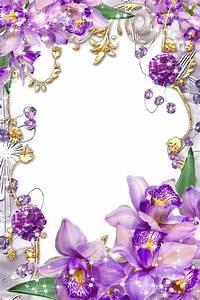 Purple Border Frame PNG Transparent Image | PNG Mart