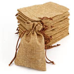 burlap bags for sale burlap bags drawstring favor wedding rustic brown sack