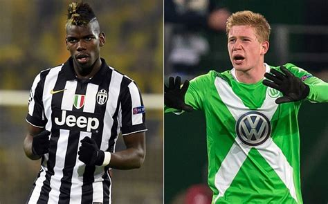 Manchester City facing battle to sign Paul Pogba and Kevin ...