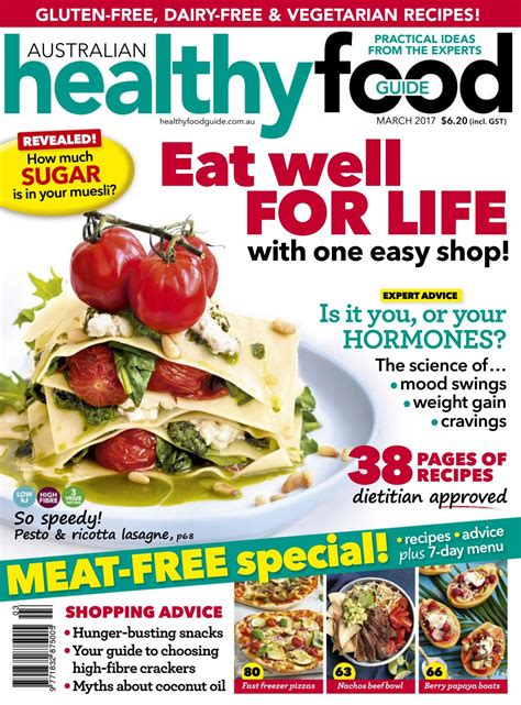 mag cuisine magazine healthy food guide march 2017 australia read