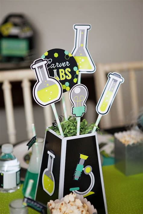 Science Decorations - kara s ideas science lab birthday kara s