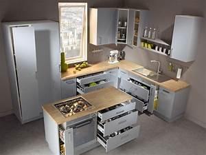 Ilot Central Cuisine Leroy Merlin : ilot de cuisine 9 conseils pour rendre un lot de cuisine design et fonctionnel ~ Melissatoandfro.com Idées de Décoration