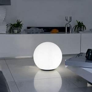 Boule Led Exterieur : boule lumineuse bobby blanche cm e27 castorama ~ Teatrodelosmanantiales.com Idées de Décoration
