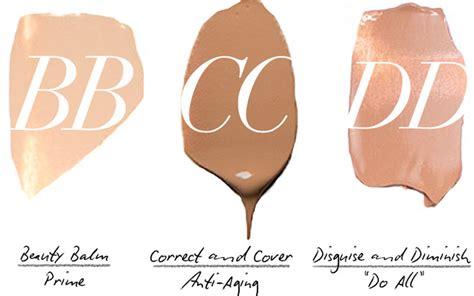 Quelle est la différence entre bb crème et cc crème ?