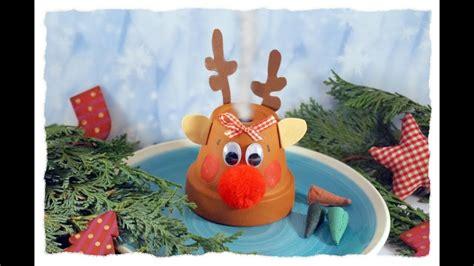 basteln weihnachten mit kindern r 228 ucherm 228 nnchen quot rentier rudi quot basteln mit kindern