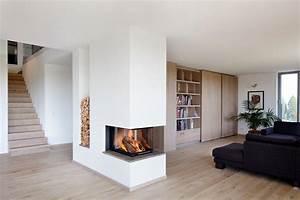 Kamin Englischer Stil : raumteiler kamin bauhaus look stil f r wohnbereich mit ~ Whattoseeinmadrid.com Haus und Dekorationen