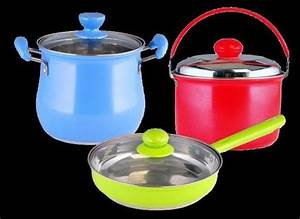 Colorful 6-Piece Stainless Steel Cookware Set - China ...