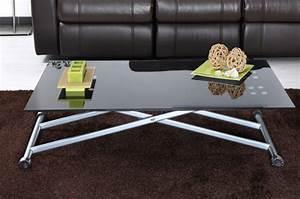 Table Basse Up And Down : table up down basto alu noir ~ Teatrodelosmanantiales.com Idées de Décoration