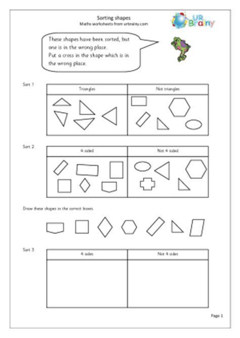 year 1 maths worksheets 3d shapes printable shapes 2d