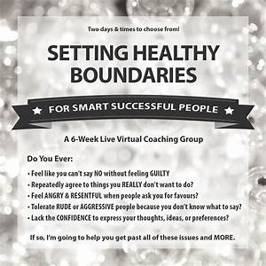 Setting Healthy Boundaries Bootcamp   Julia Kristina ...