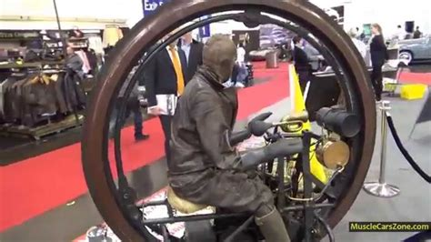 1894 One Wheel Motorcycle In The World