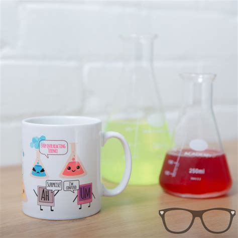 Cute science mug ideal for scientists and by MiniGeekBoutiqueUK