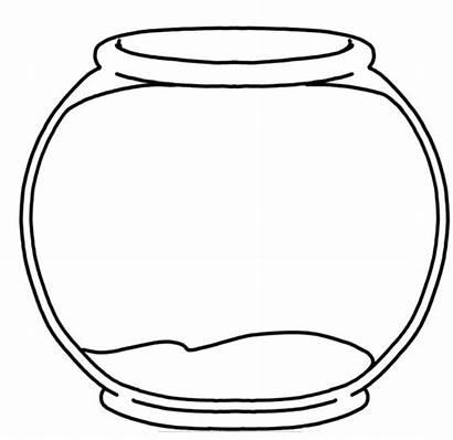 Fish Bowl Printable Clipart Craft Fishbowl Library