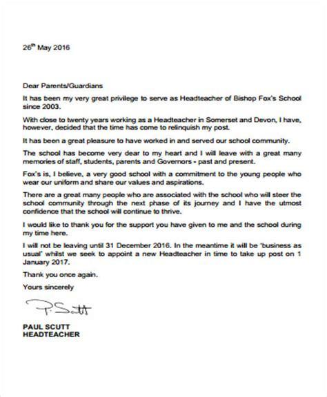 sample school resignation letter  sample