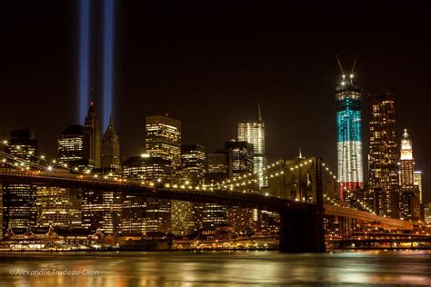Tribute in light 2012 by Alexandre Trudeau-Dion, via 500px