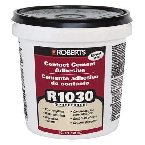 Roberts 1 qt. Contact Cement Adhesive for Cork Wall Tiles