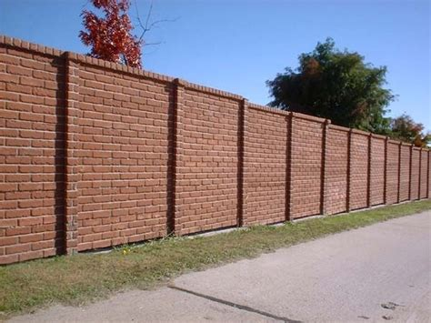 brick fence designs 46 best images about fences on pinterest gardens brick garden and iron gates