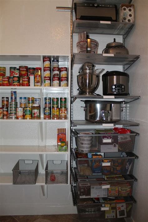 elfa  kitchen pantry great  organizing small