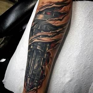 Image Gallery terminator tattoo