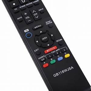Tv Remote Control Gb118wjsa For Sharp Tv Gb004wjsa
