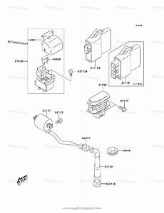 Kawasaki Atv 2003 Oem Parts Diagram For Ignition System