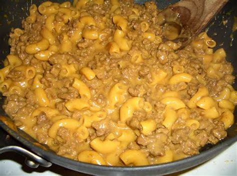 Homemade Cheeseburger Macaroni Hamburger Helper Recipe