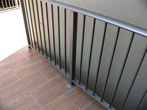 Galvanised Steel Balustrade To Fire Stairs