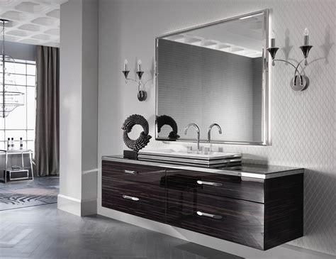 milldue hilton  ebony wood luxury italian bathroom vanities
