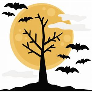Halloween Tree SVG cutting files halloween svg cuts free ...