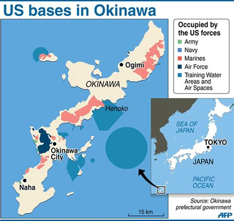 us returns a large portion of okinawa 丨 asia