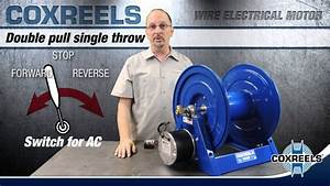 How To Wire Electric Motor For A Reel - Coxreels