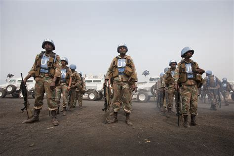 Monusco Supports South African Defence Forces' Prevention