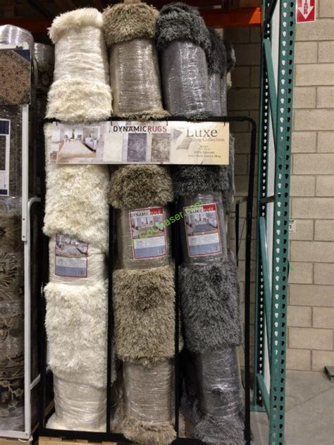 costco rugs for dynamic rugs the luxe shag collection 5 x 8 or 8 x 10