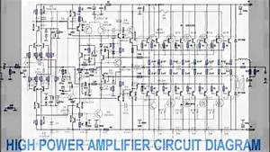 Dj Amplifier Circuit Diagram