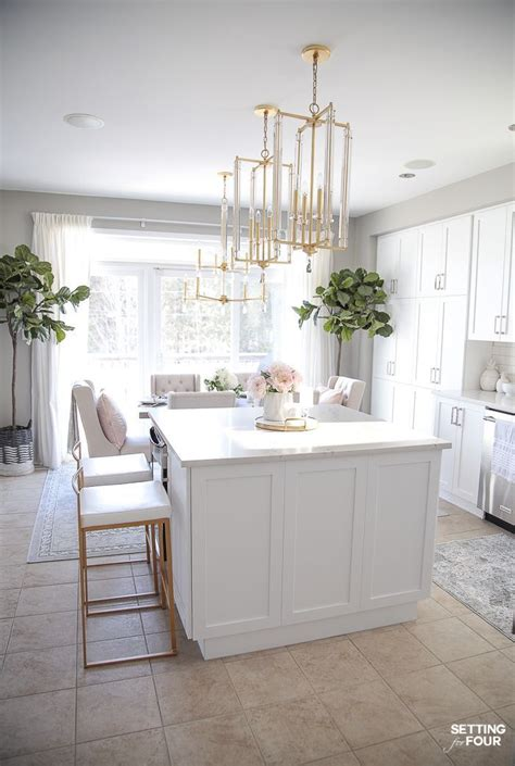 Kitchen Decor Ideas by Light And Bright Kitchen Decor Ideas Kitchen