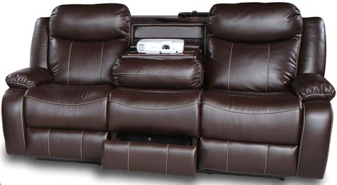 brown fabric recliner sofa genesis jamestown brown fabric power reclining sofa
