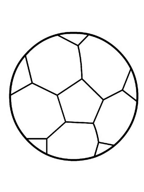 soccer ball coloring pages  printable soccer ball