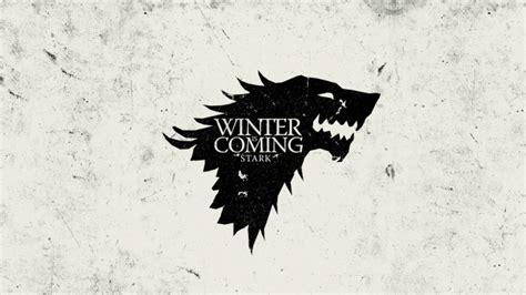 wallpaper winter  coming house stark sigil game