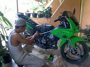 Skema Kelistrikan Motor  Skema Motor Ninja