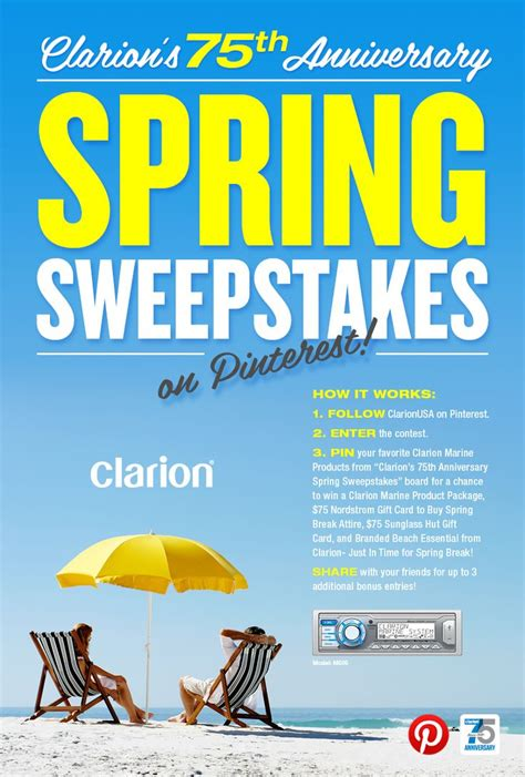 21 best images about clarion spring break sweepstakes on