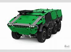 LEGO TECHNIC GTK BOXER Armoured Vehicle 8WD