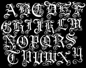 5 free graffiti alphabet fonts style graffiti tutorial With tattoo letter stencils