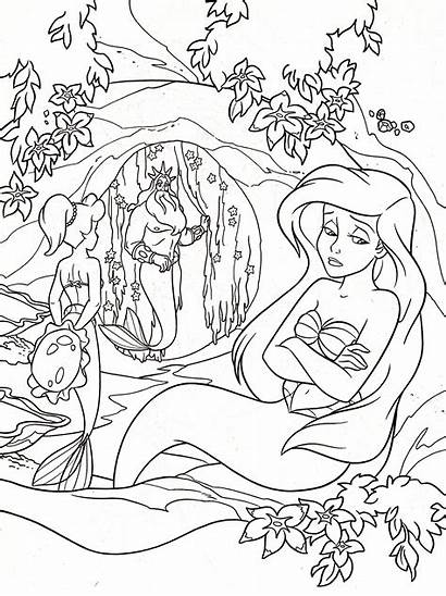 Coloring Pages Teens Teenagers Disney Princess Detailed